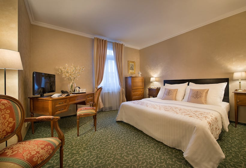Room Hotel Angelis Prague
