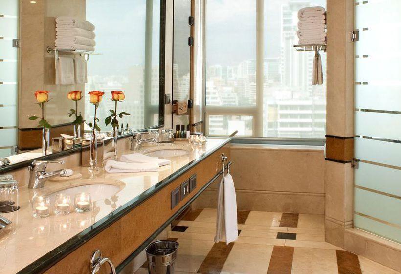 Badezimmer Hotel Intercontinental Santiago Las Condes