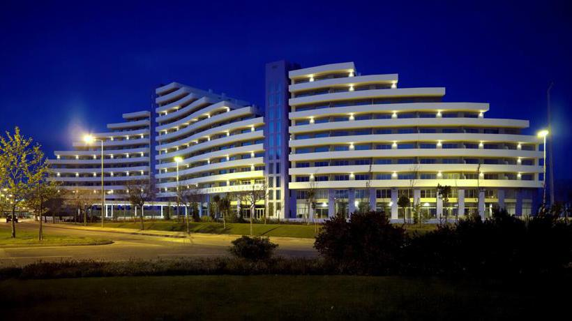 Aussenbereich Apartamentos Oceano Atlantico Portimao