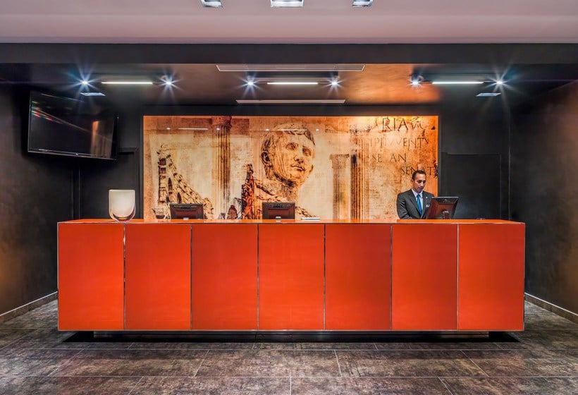 Reception Hotel H10 Roma Citta