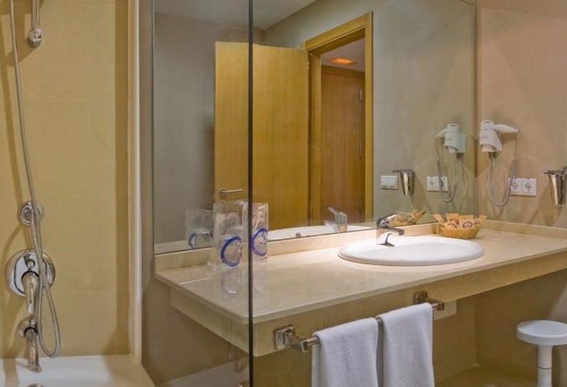 浴室 ホテル La Estación ベニドルム