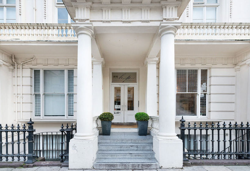 Buitenkant Hyde Park Executive Apartments Londen