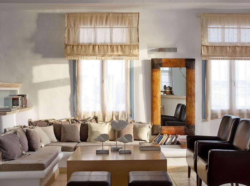 Gemeinschaftsbereiche Harmony Boutique Hotel Mykonos