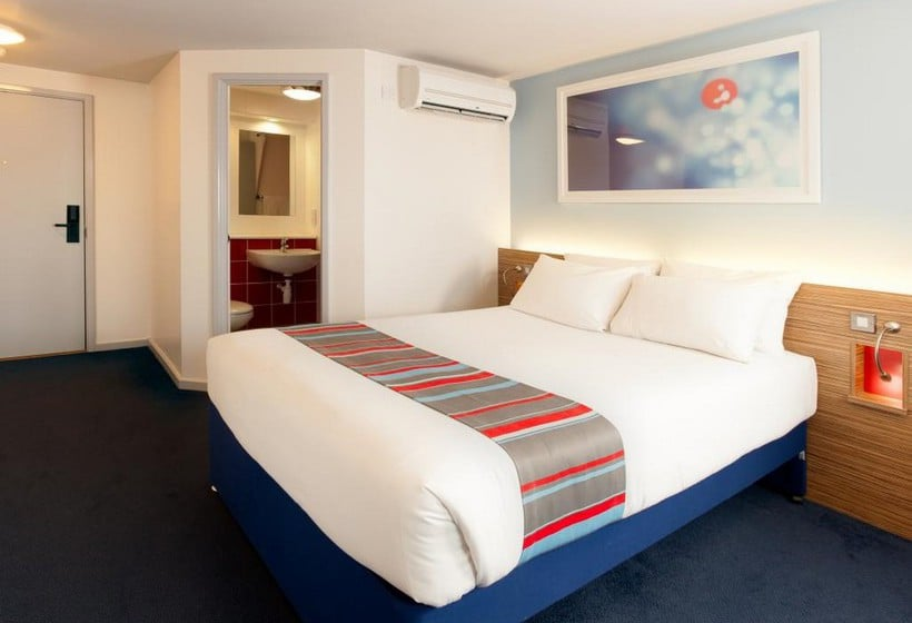 Kamer Hotel Travelodge London Central Southwark Londen
