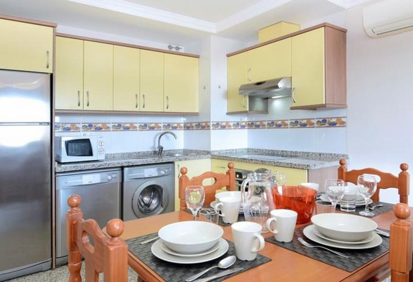 Cuisine Apartamentos Nuriasol Fuengirola