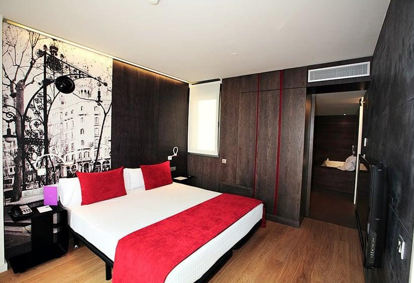غرفة فندق Ayre Rosellón برشلونة