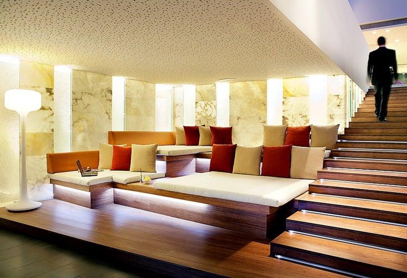 共同スペース ホテル Ayre Rosellón バルセロナ
