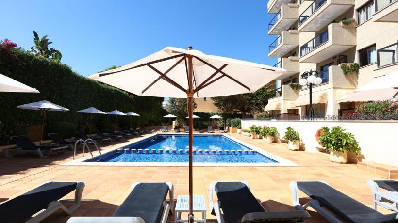 Piscina Apartamentos Jade S'Arenal