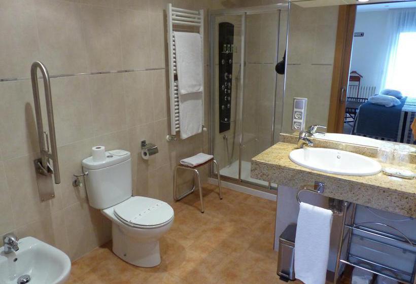 Bathroom فندق Les Truites باس دي لا كاسا