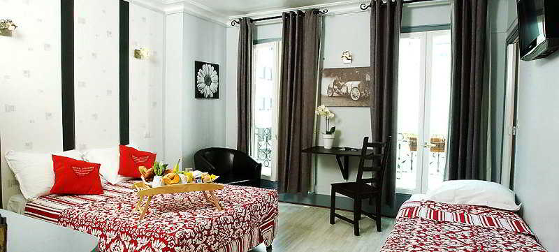 hotel le villiers em par s desde 28 destinia. Black Bedroom Furniture Sets. Home Design Ideas