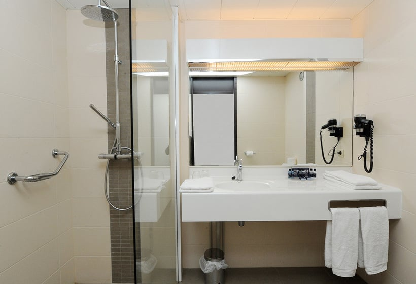 Badezimmer Hotel City Inn Luxe Antwerpen