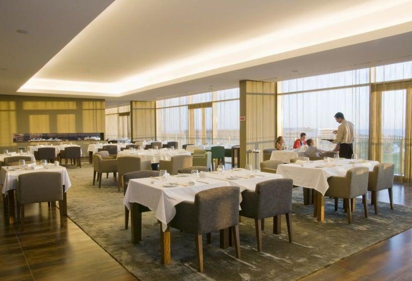 مطعم فندق Salgados Palace البوفيرا