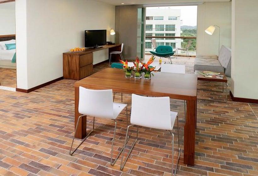 Zimmer Hotel Occidental Cartagena