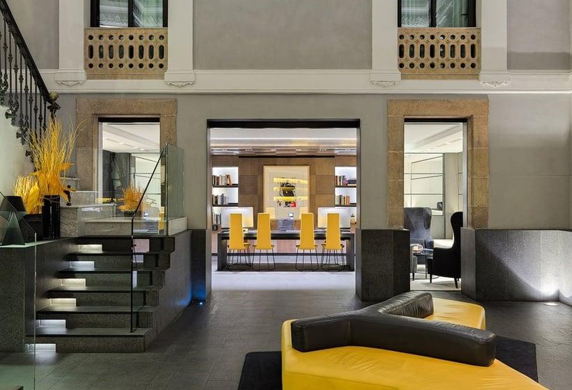 שטחים ציבוריים בית מלון כפרי H10 Urquinaona Plaza ברצלונה