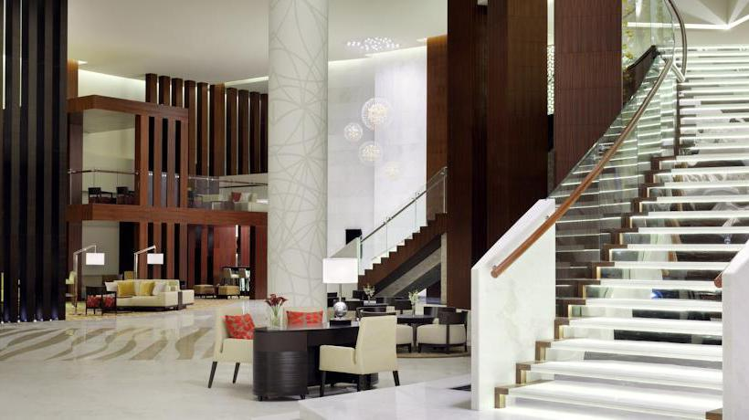 Common areas Marriott Hotel Al Jaddaf Dubai