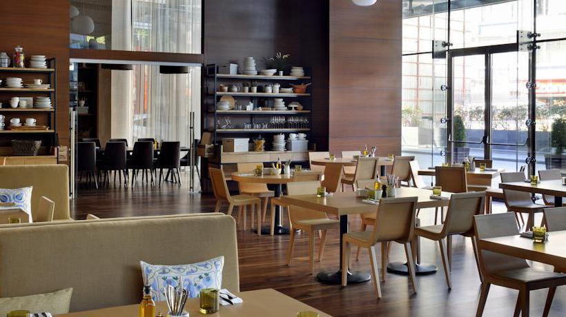 Restaurant Istanbul Marriott Hotel Sisli