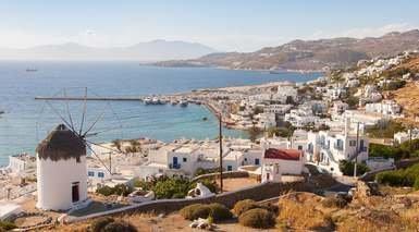 Atenas, Santorini, Creta y Rodas
