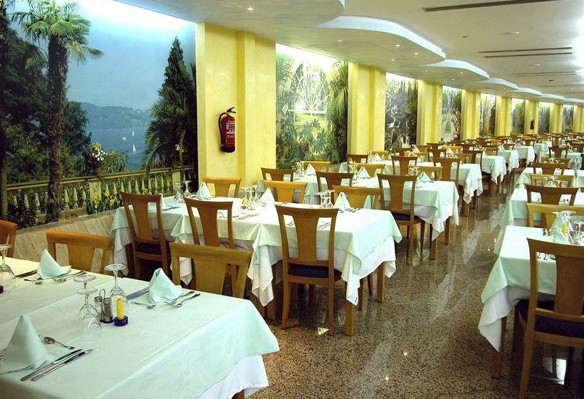 레스토랑 Gran Hotel Bali 베니 돔