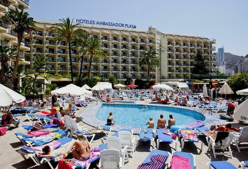 Piscina Hotel Ambassador Playa II Benidorm