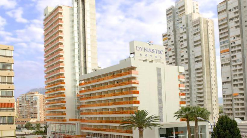 Outside Hotel Dynastic Benidorm