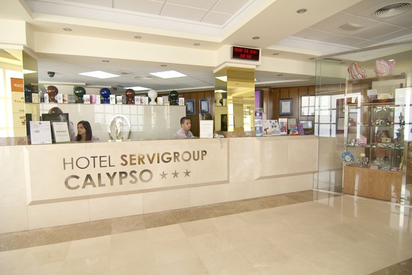الاستقبال فندق Servigroup Calypso بينيدورم