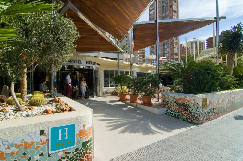 Outside Hotel Servigroup Nereo Benidorm
