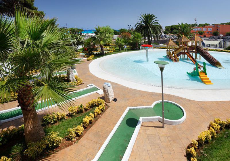 Piscina Hotel Occidental Menorca Sant Lluís