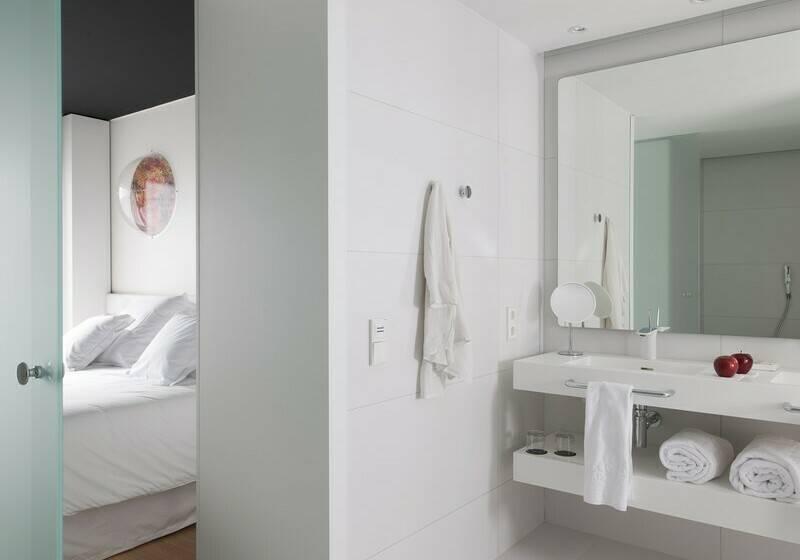 Salle de bain Hôtel Barceló Sants Barcelone