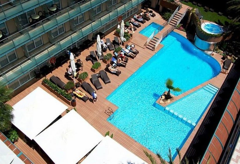 Swimming pool Hotel Kaktus Playa Calella