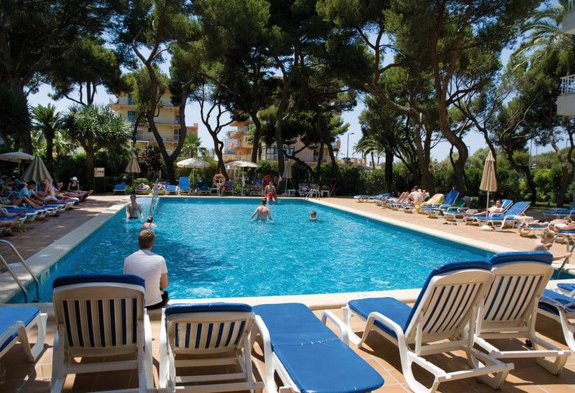 Schwimmbad Hotel Riu Concordia Platja de Palma