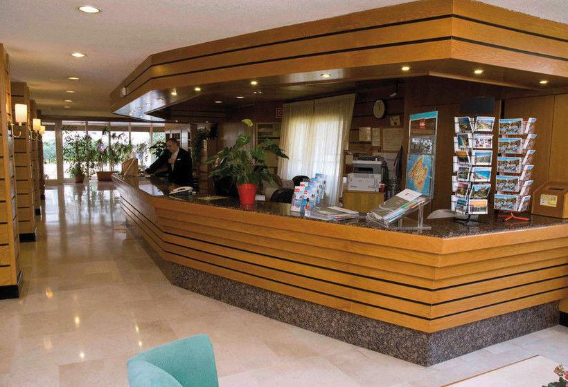 レセプション ホテル Riu Playa Park Platja de Palma