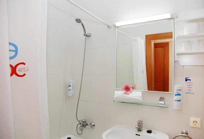 Salle de bain Hôtel Roc Boccaccio Port d'Alcudia