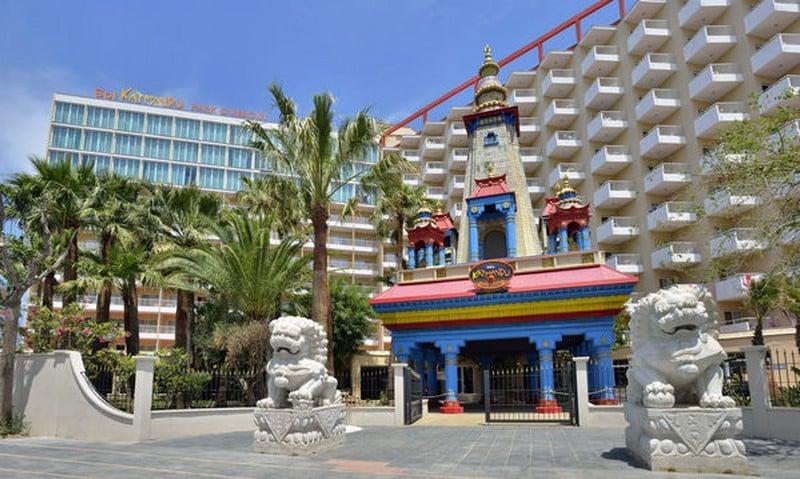 Aussenbereich Sol Katmandu Park & Resort Magalluf
