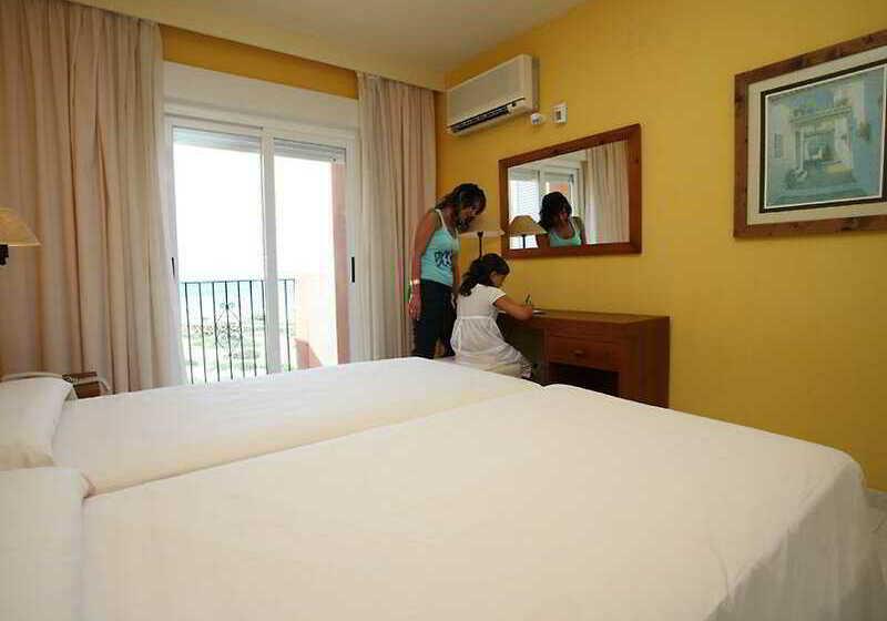 Quarto Aparthotel Las Dunas Novo Sancti Petri