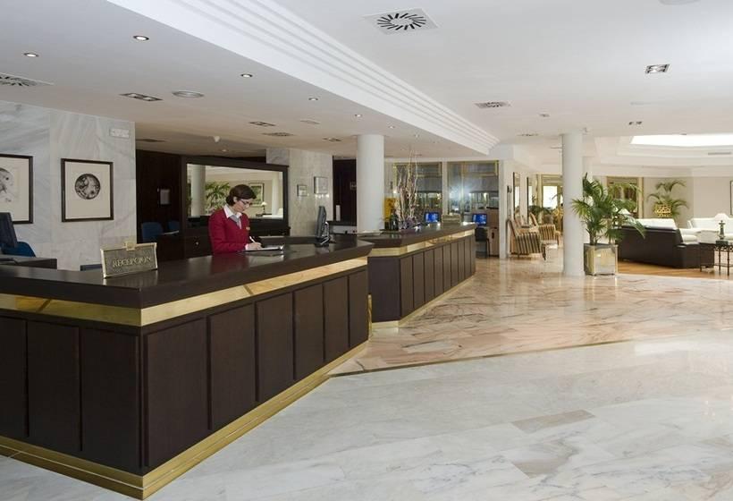 Recepción Hipotels Sherry Park Jerez de la Frontera