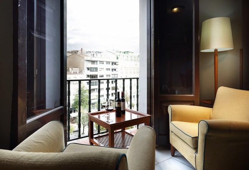 Chambre Hôtel Juan Miguel Grenade