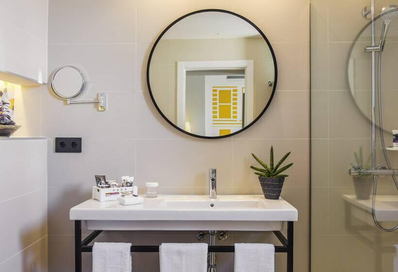 Cuarto de baño Hotel Mercure Madrid Plaza de España