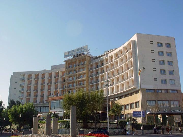 ホテル Husa Imperial Tarraco タラゴナ