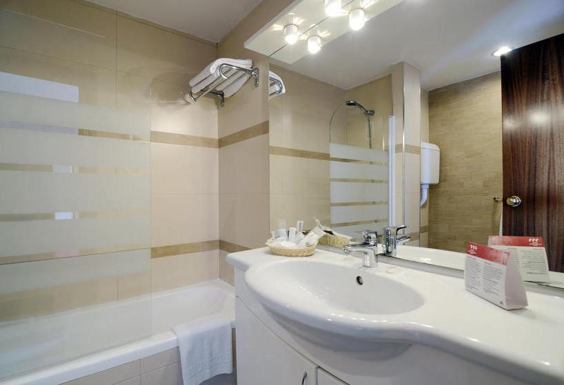 Salle de bain Hôtel Las Piramides Fuengirola