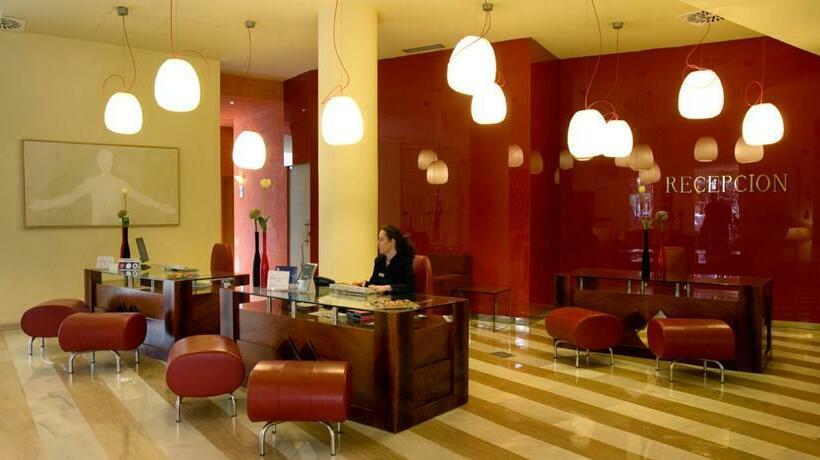 Front desk Hotel Silken Al-Andalus Palace Seville