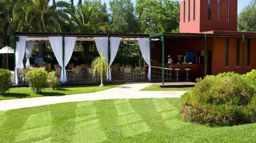 Terrace Hotel Silken Al-Andalus Palace Seville