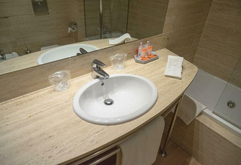 Bathroom فندق Vilana برشلونة