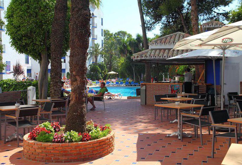 Zonas comuns Aparthotel PYR Marbella