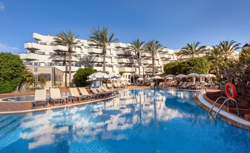 Piscina Hotel Barcelo Corralejo Bay - Adults Only