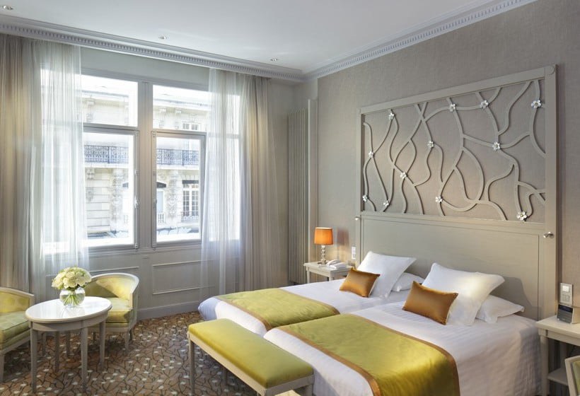 Quarto Hotel Chateau Frontenac Paris