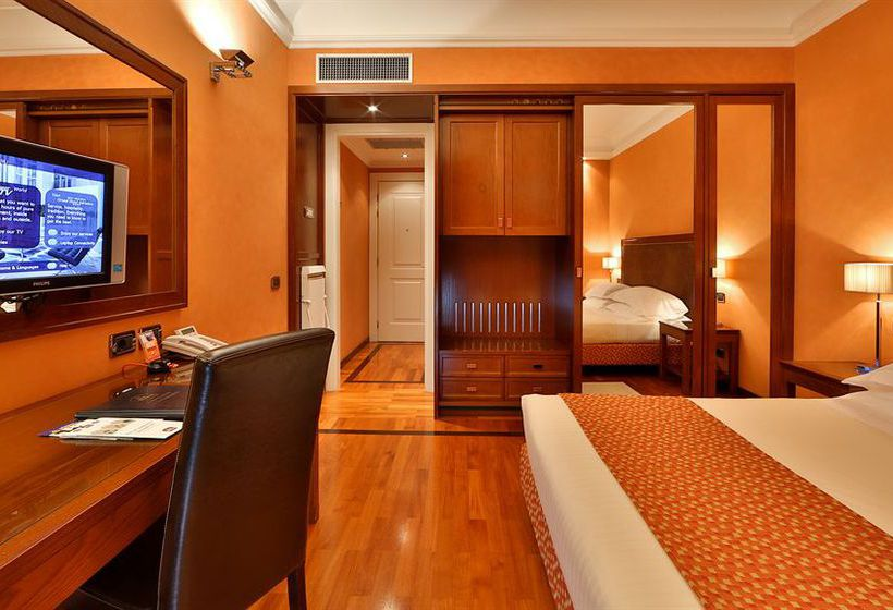Room Best Western Grand Hotel Adriatico Florence