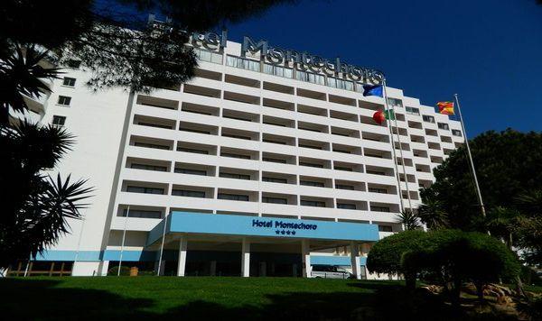 Aussenbereich Hotel Montechoro Albufeira