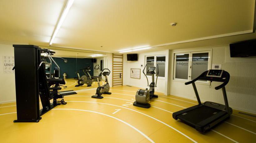 Instalaciones deportivas Novotel Antwerpen Amberes