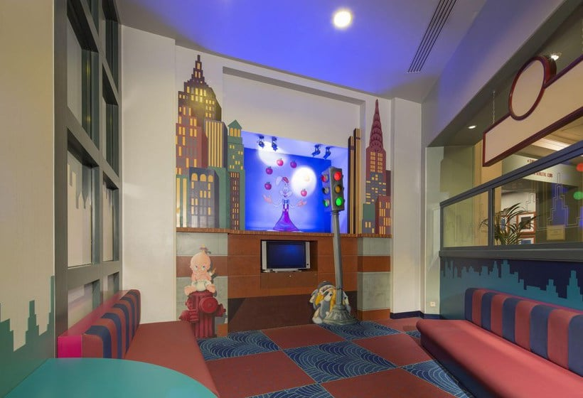 Camere Santa Fe Disneyland : Disneys hotel new york in disneyland paris ab 168 u20ac destinia