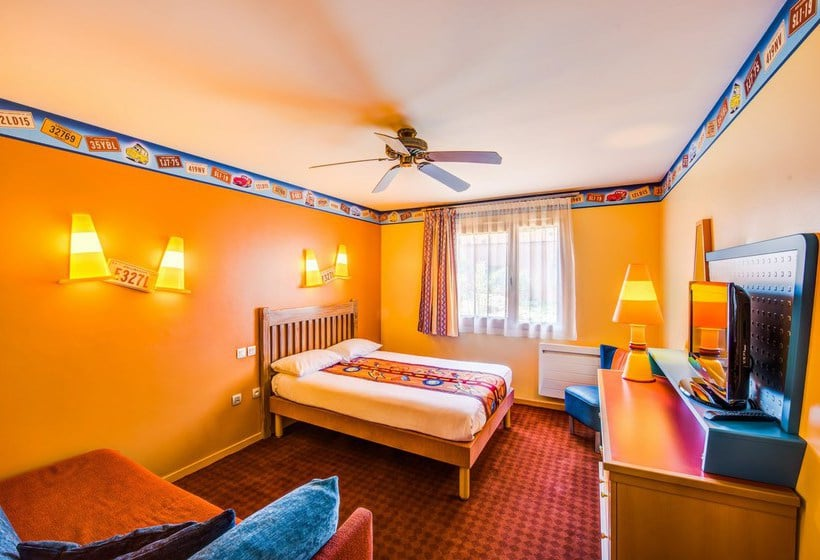 Disney S Hotel Santa Fe In Disneyland Paris Starting At 75 Destinia